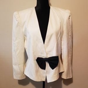 Jackets & Blazers - Vintage 80s Jacket With Bow